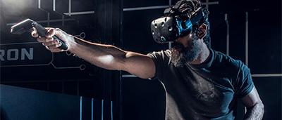 Une salle d'arcade dediee a la realite virtuelle