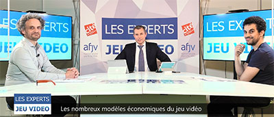 Les experts jeu video