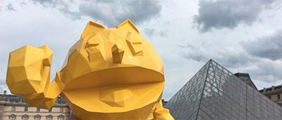 Pac-Man eleve au rang d'œuvre d'art