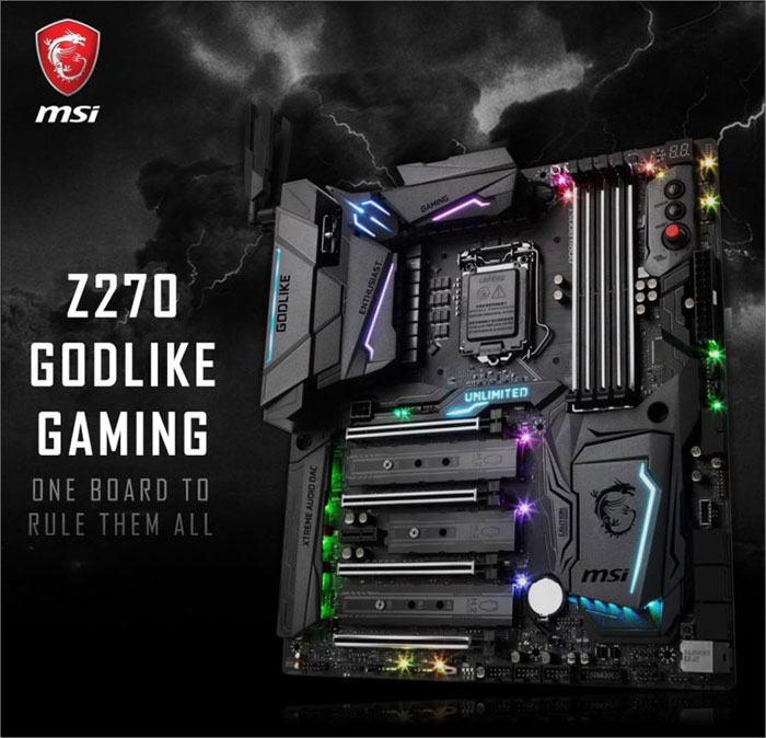 Carte mère MSI Z270 Godlike Gaming