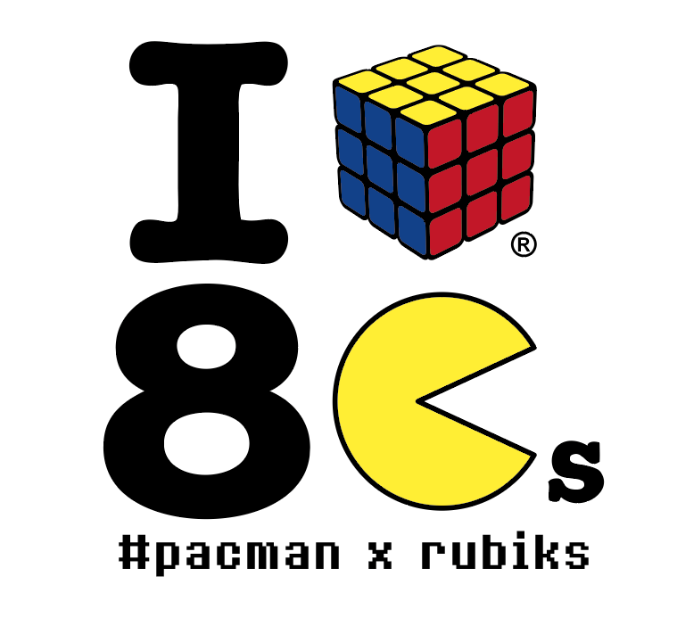 pac man x rubik 39 s le mashup ultime de la pop culture. Black Bedroom Furniture Sets. Home Design Ideas