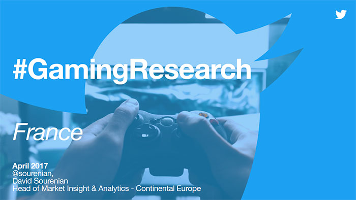 Résultats France de l'étude Gaming Research