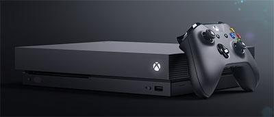 Microsoft devoile Xbox One X