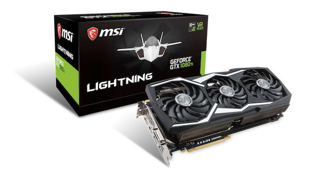 Geforce GTX 1080 TI Lightning Z