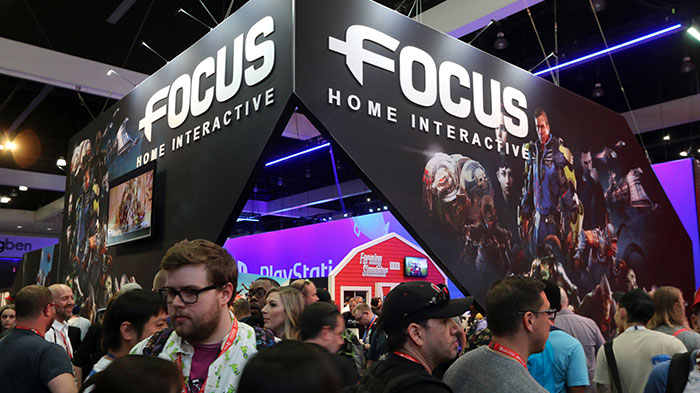 Stand Focus Home Interactive à l'E3 2017