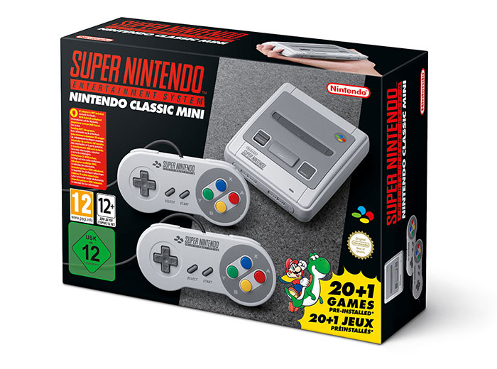 Nintendo Classic Mini : Super Nintendo Entertainment System (packaging)
