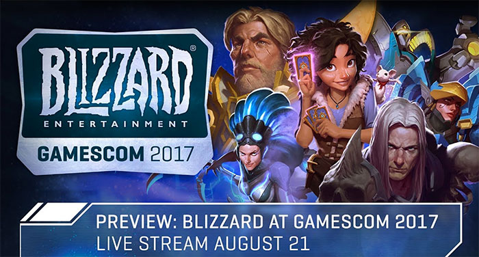 Blizzard Entertainment à la gamescom 2017