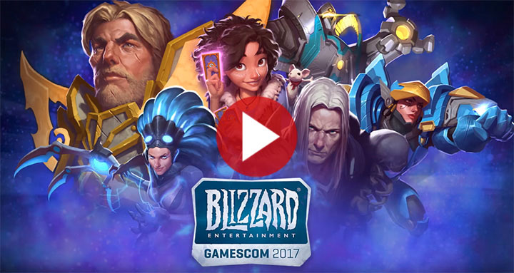 Blizzard à la gamescom 2017
