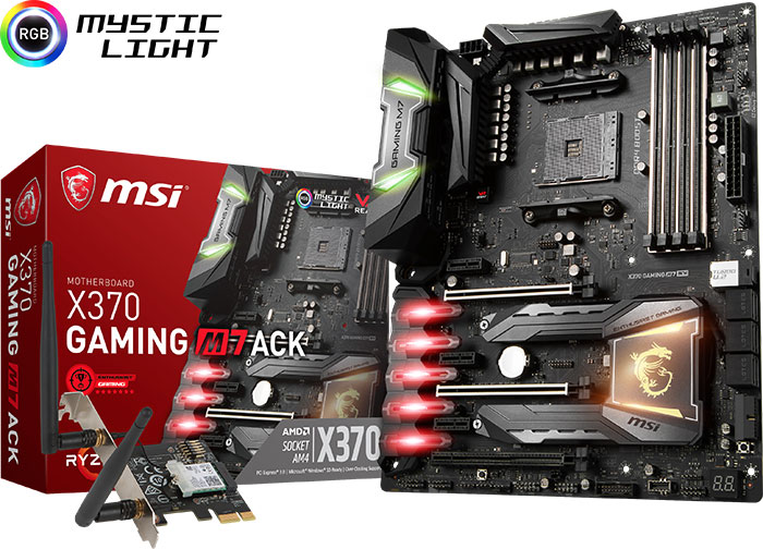 Carte mère MSI X370 Gaming M7 ACK