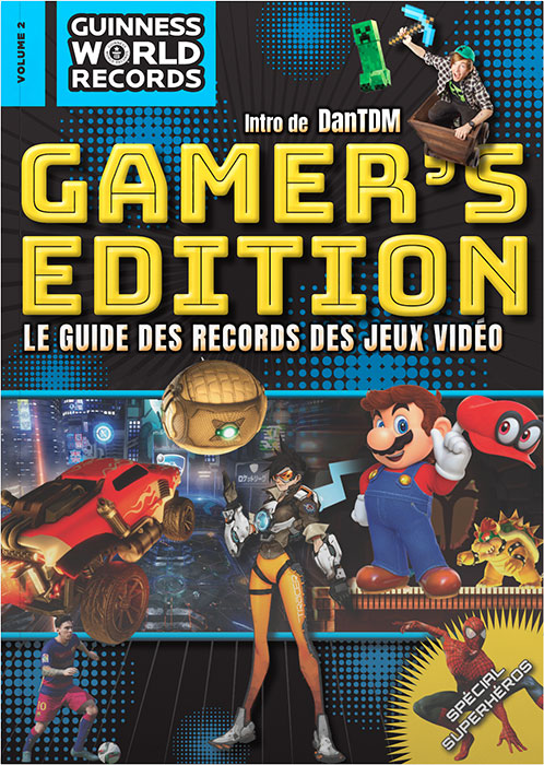sortie du guinness world records gamer 39 s edition 2018