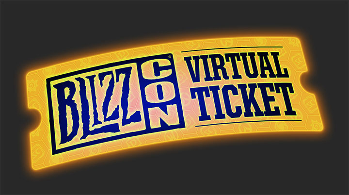 Billet virtuel Blizzcon