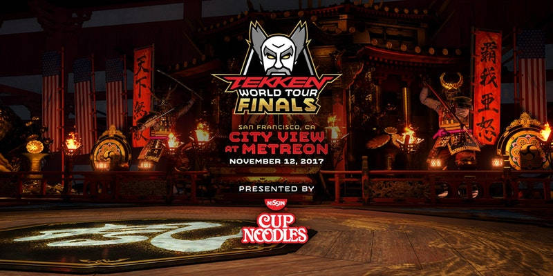 Finale du Tekken World Tour à San Francisco le 12 novembre