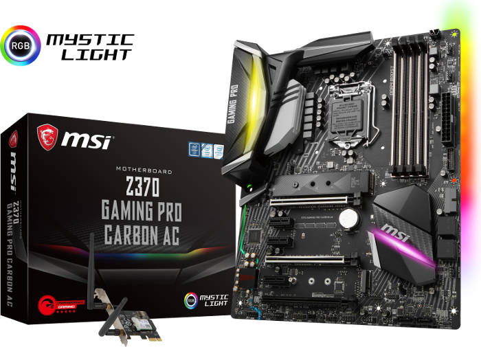 Carte mère MSI Z370 Gaming Pro Carbon AC