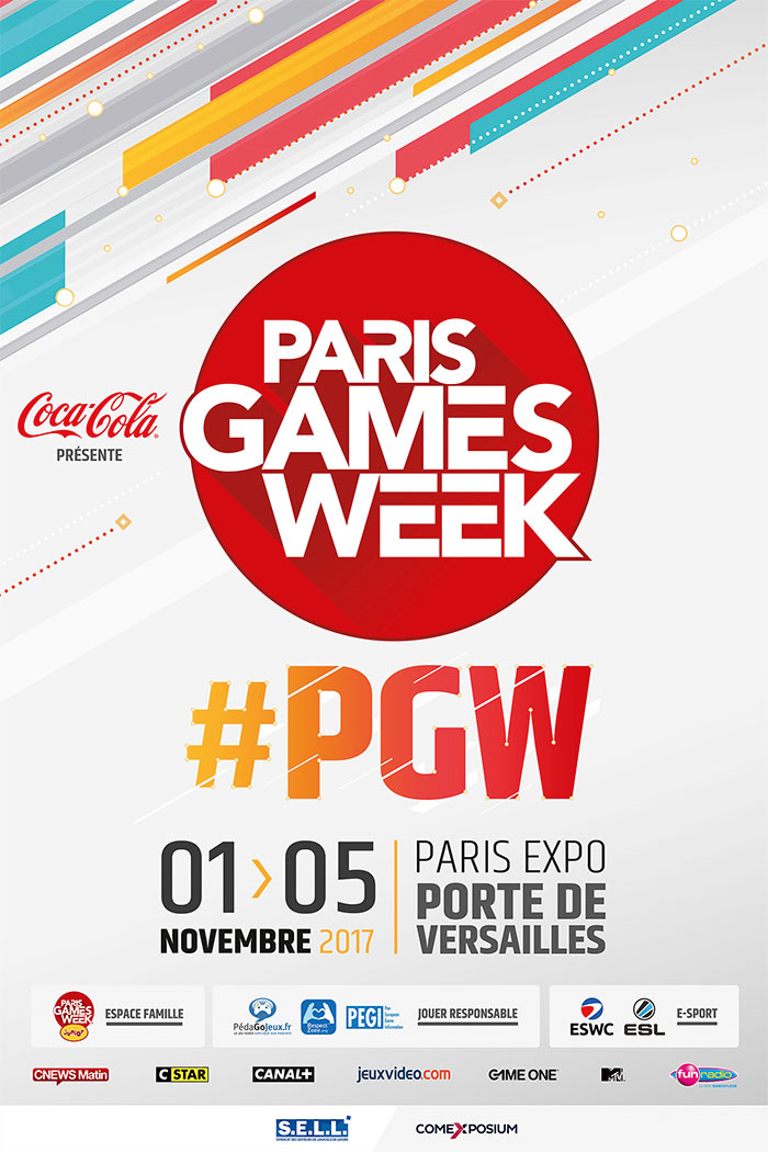 Affiche Paris Games Week 2017