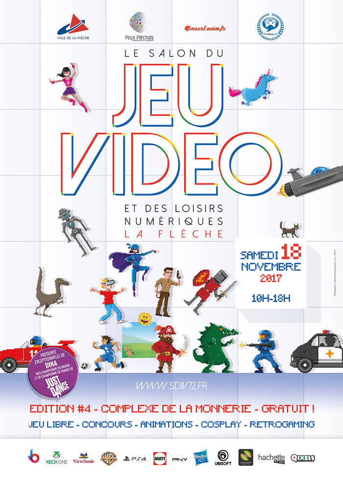 salon du jeu vid o de la fl che 72 le 18 novembre 2017 On salon du jeux video 2017