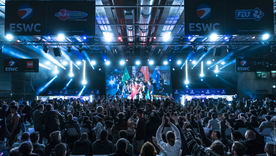 Tournois officiels ESWC à La Paris Games Week