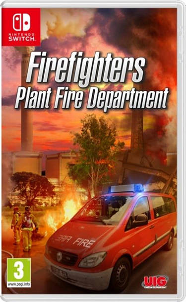 Firefighters Plant Fire - The Simulation