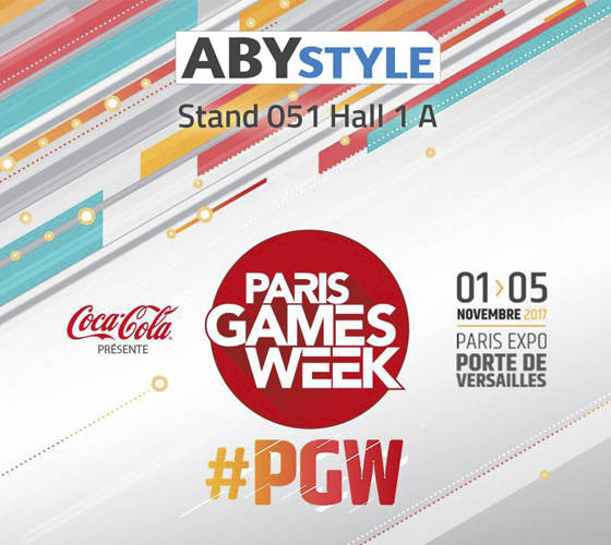 ABYstyle à la Paris Games Week
