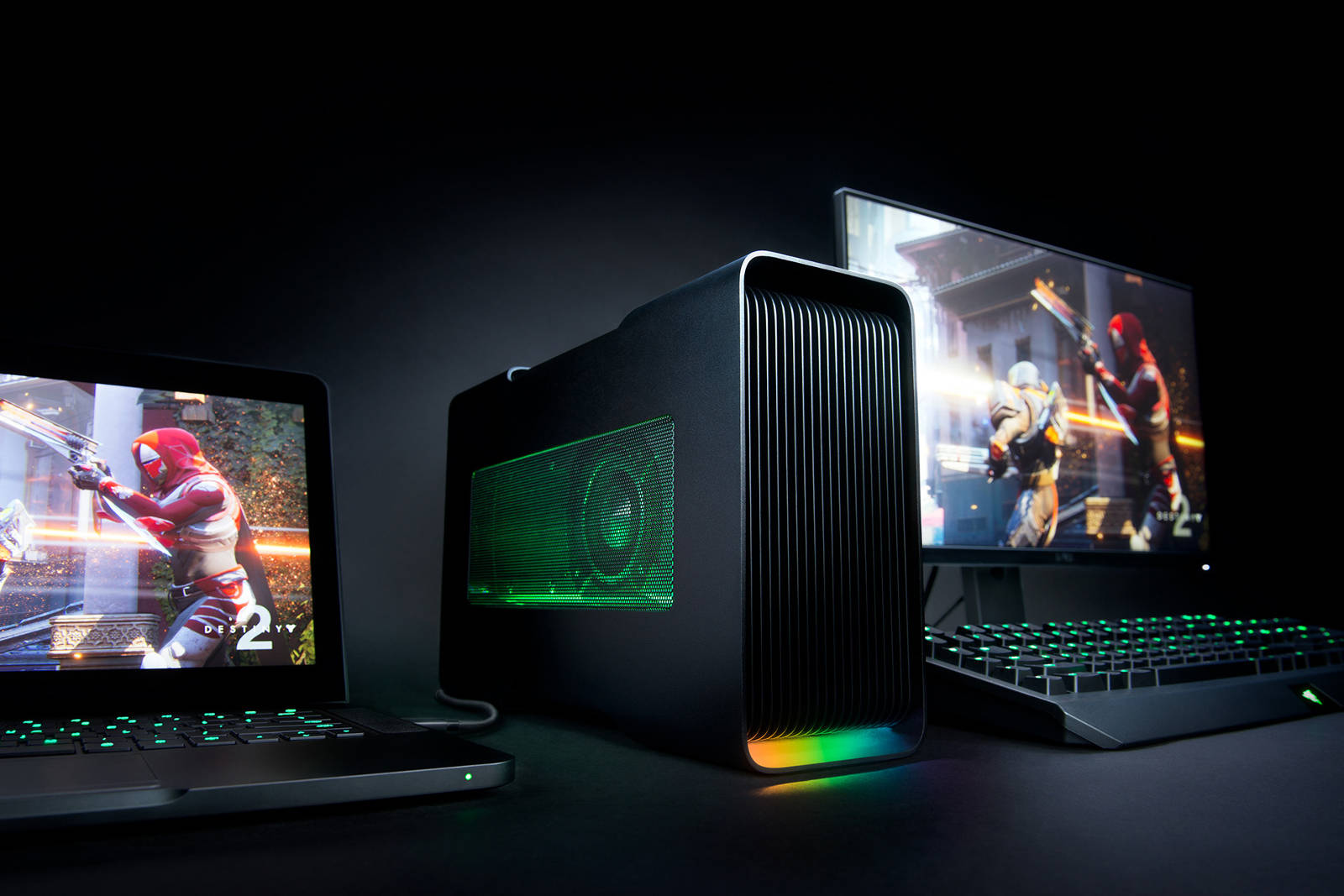 PC Blade Stealth Quad Core et dock GPU externe Core v2