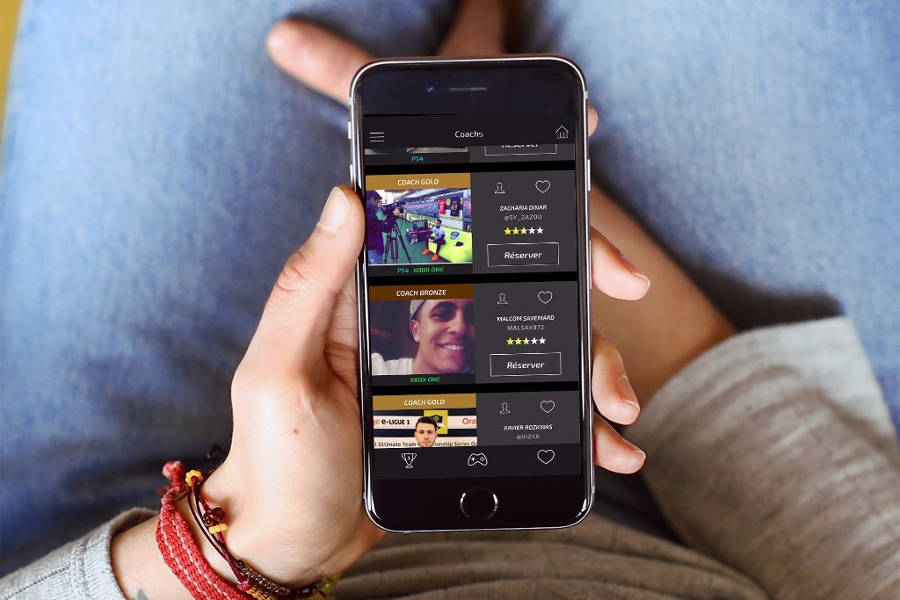 GamersRoom, l'application de e-coaching pour les gamers