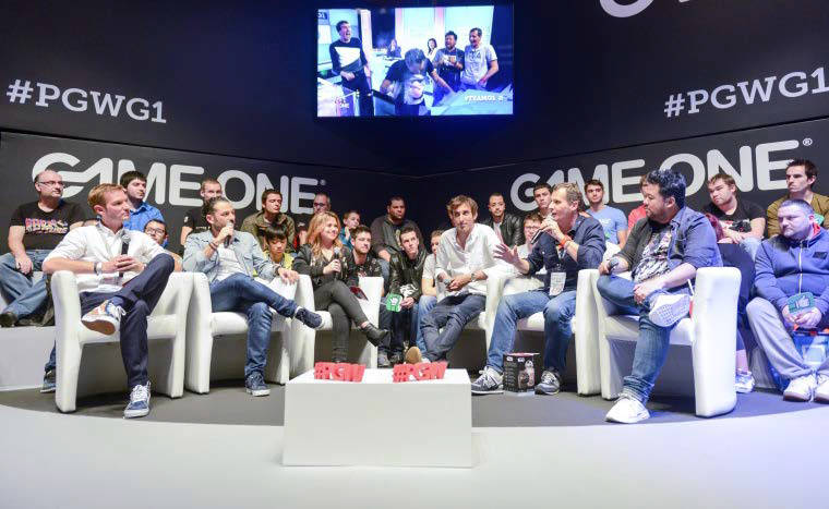 Game One en duplex de Paris Games Week 2017