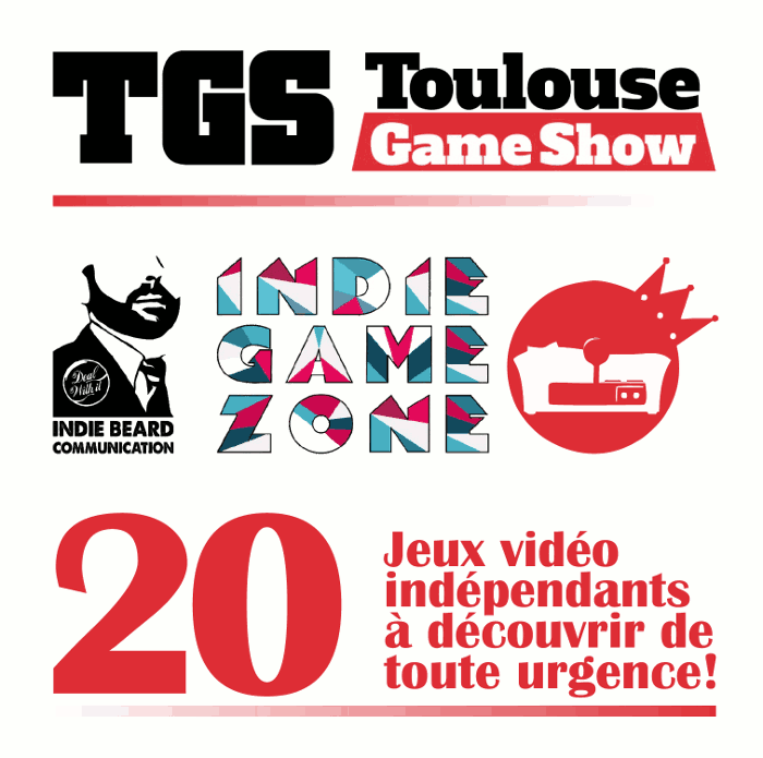 Indie Game Zone au Toulouse Game Show