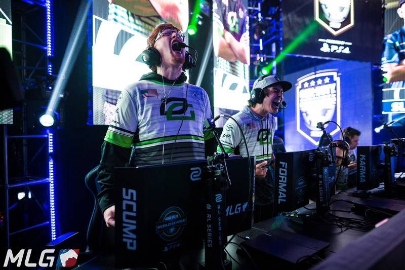 L'équipe OpTic Gaming, championne 2017 du CWL Dallas Open