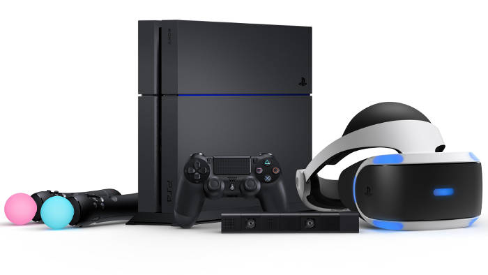 Playstation 4 + casque VR