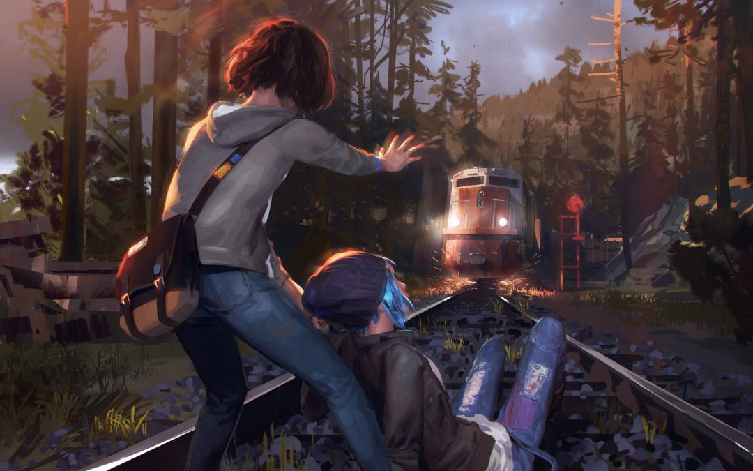 Concept art de life is strange (Dontnod Entertainment)