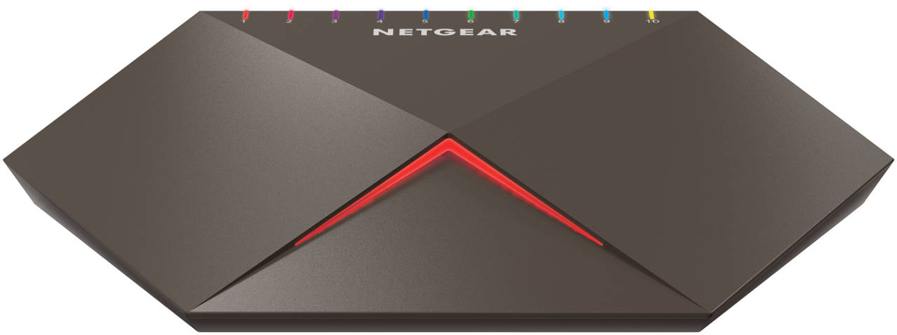 Switch 10G/Multi-Gig Netgear Nighthawk Pro Gaming SX10 (GS810EMX)