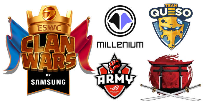 ESWC Clan Wars by Samsung sur Clash Royale