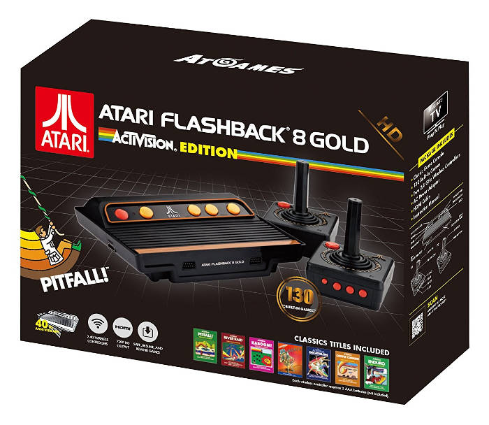 Console Atari Flashback 8 Gold HD - Activision Edition