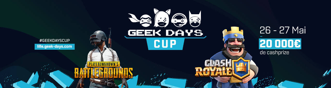 Geek Days 2018 de Lille
