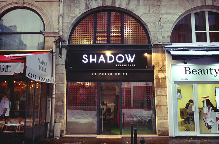 "Boutique éphémère ""Shadow Experience"""