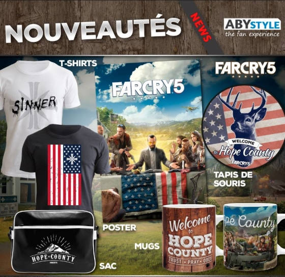 Far Cry débarque chez ABYstyle