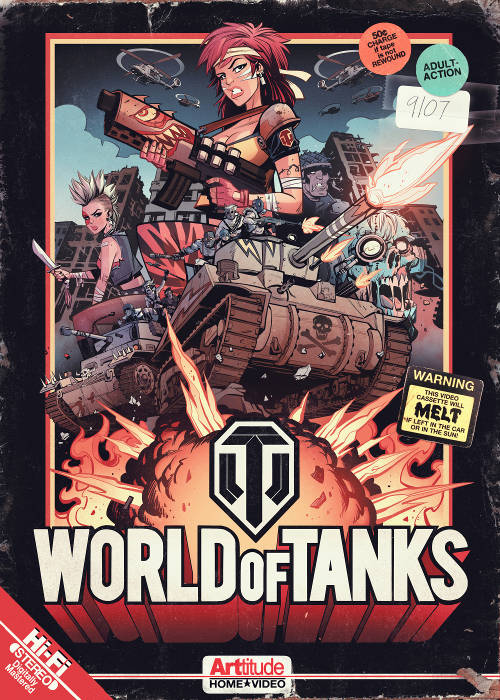 World of Tank par Brett Parson