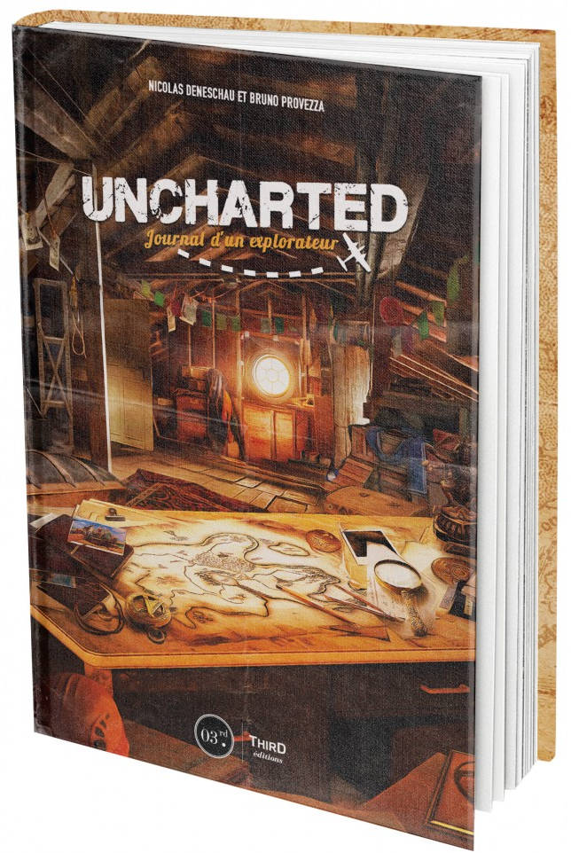 Uncharted : Journal d'un explorateur (livre)