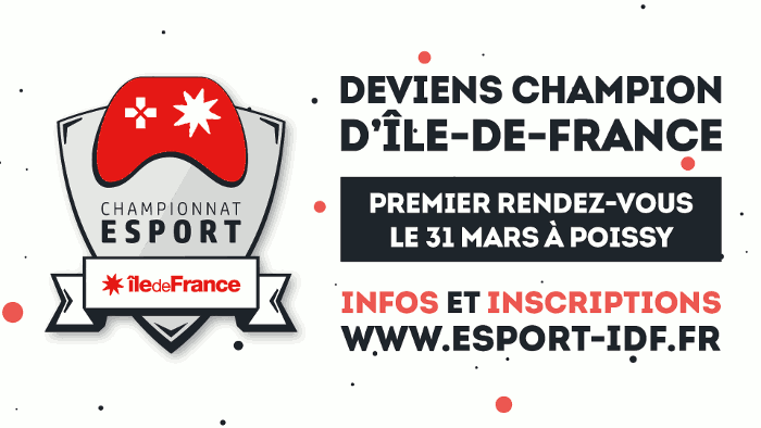 Championnat amateur esport d'Ile-de France