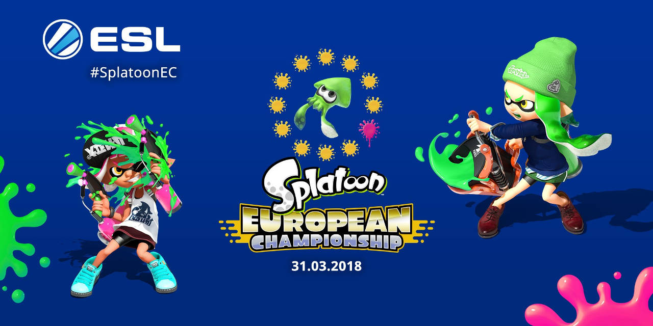 Champion d'Europe de Splatoon