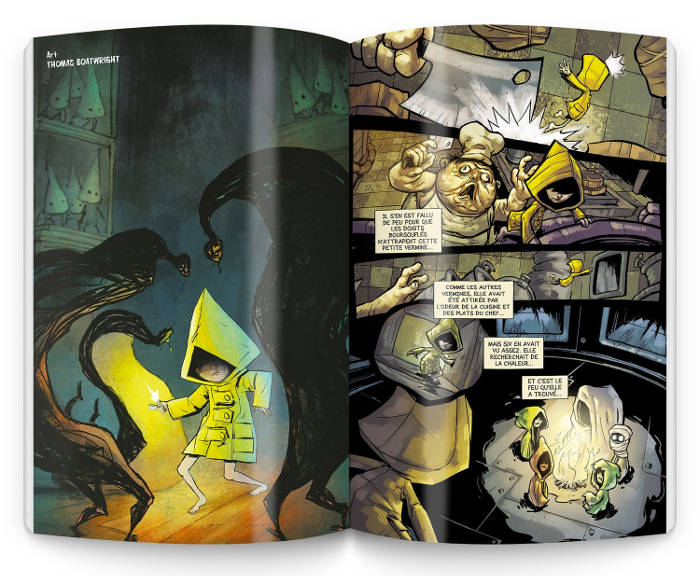 Le comics officiel de Little Nightmares chez Omaké Books
