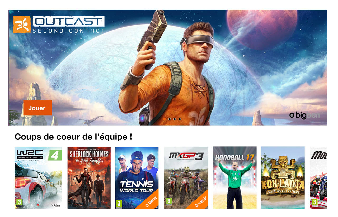 Outcast - 2nd Contact prochainement disponibles en streaming
