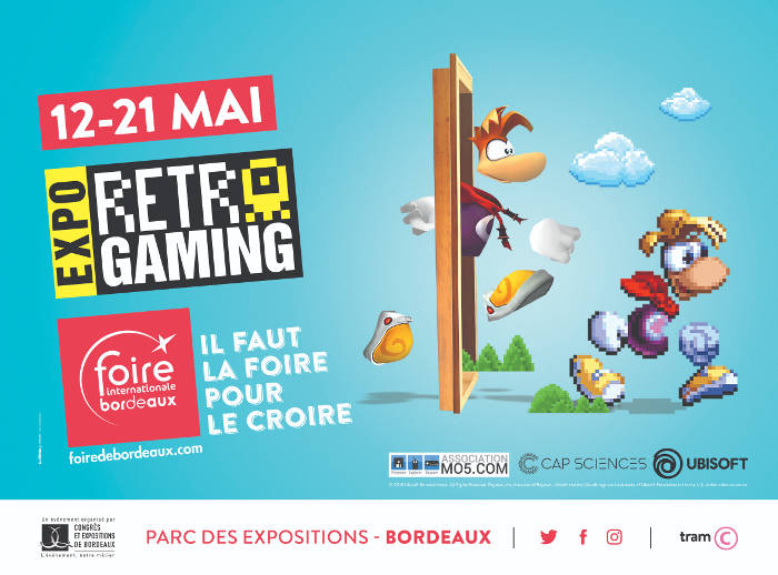"Expo ""Rétro Gaming"" à Bordeaux"