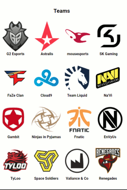 Teams Corsair Dreamhack Masters Marseille