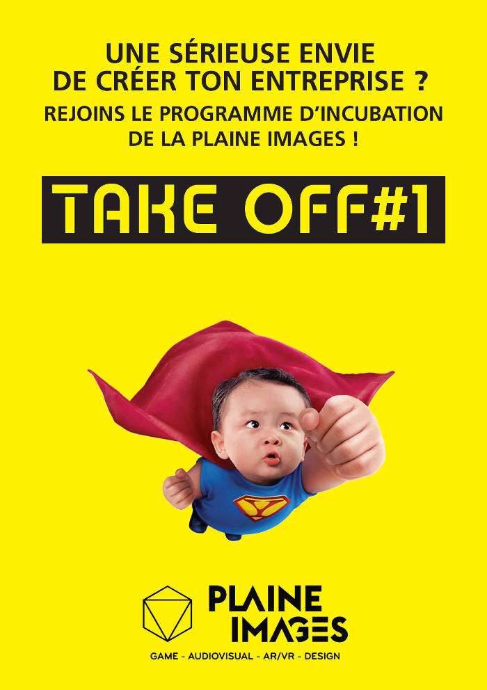 Programme d'incubation de la Plaine Images : TakeOff#1