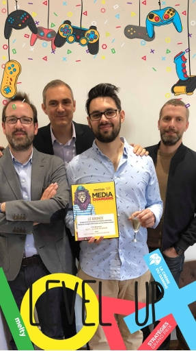 Melty remporte un prix bronze aux Media Changers Awards by Strategies