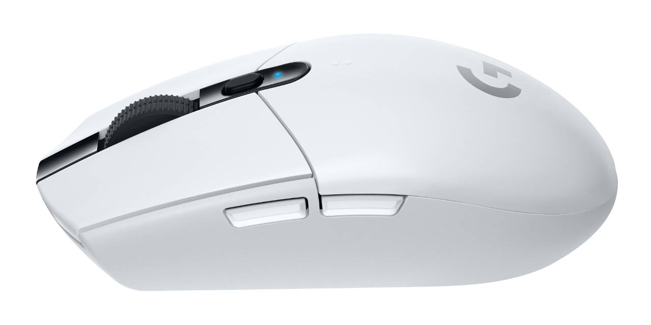 Souris Logitech G305 Lightspeed Wireless Gaming Mouse blanche