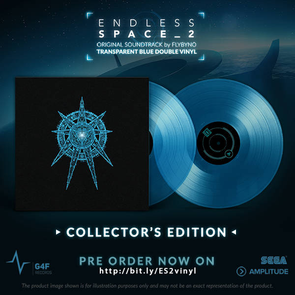 La B.O d'Endless Space 2 en édition double vinyle collector