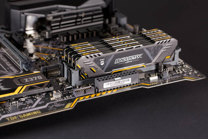 Mémoire gamer Ballistix Sport AT