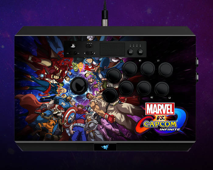 Stick arcade Marvel vs. Capcom : Infinite pour PS4