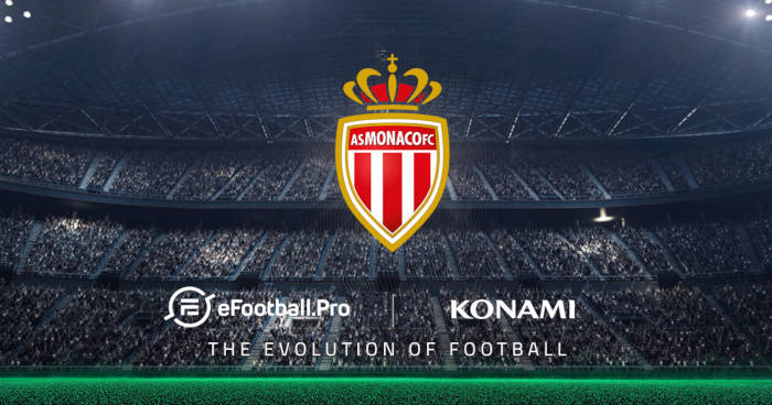 L'AS Monaco rejoint la compétition eSport eFootball.Pro